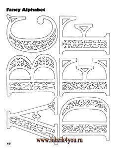 Художественное выпиливание .:. Classic Fretwork Scroll Saw Patterns (Sterling 1991 год)_47