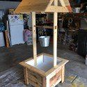 Wooden Wishing Well Plans | MyOutdoorPlans | Free Woodworking Plans and Projects, DIY Shed, Wooden Playhouse, Pergola, Bbq Diy Wooden Projects, Wooden Diy, Furniture Projects, Pallet Projects, Pallet Furniture, Garden Projects, Wood Pallet Planters, Diy Planter Box, Diy Planters