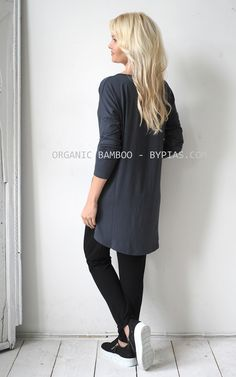 factory authentic 7e537 f3d83 BAMBOO Tunic, CHOOSE COLOR - BYPIAS Bamboo - BYPIAS