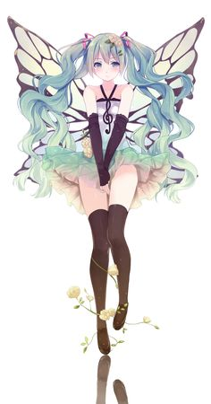 Vocaloid Fairy  #Anime #AnimeGirl #Fairy #Vocaloid