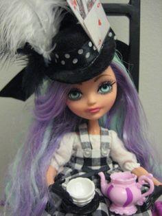 Ooak Ever After High Monster High Madeline Hatter by mybarbieart