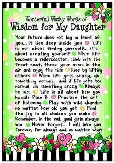 My girls continue to teach me these lessons. We are family strong!