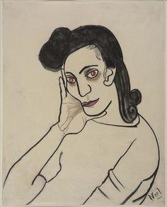 Thunderstruck (Alice Neel (American, 1900-1984), Portrait of Dark...)