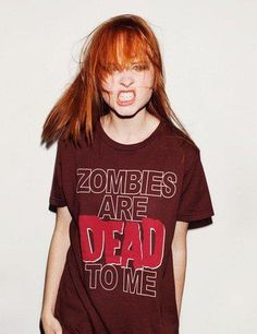 Zombies are my thing.  I need all of the zombie shirts!