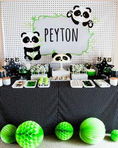 Adorable Panda Party: fiesta infantiles temática Panda. Bonitas fotografías y mucha inspiración en este cumpleaños tan divertido.