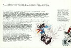 technical sheet XT600 Z Teneré