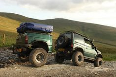 Vitara with expedition trailer