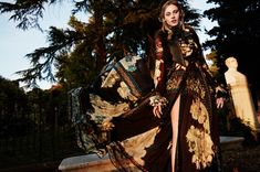 Paulina embraces autumnal hues for her wardrobe
