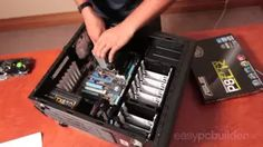how to build a pc Build A Pc, Computer Build, Walkie Talkie, Projects To Try, Tech, Building, Youtube, Buildings, Technology