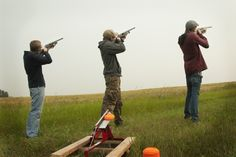 $85 to take the squad out and try your hand at #shooting #trap (50 rds)! Beginner friendly.
