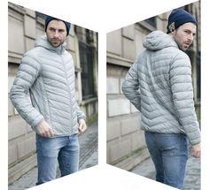 Pánská zimní lehká prošívaná bunda šedá – Velikost L Na tento produkt se vztahuje nejen zajímavá sleva, ale také poštovné zdarma! Využij této výhodné nabídky a ušetři na poštovném, stejně jako to udělalo již velké … Men's Jackets, Winter Jackets, Fashion, Winter Coats, Moda, Fashion Styles, Fashion Illustrations
