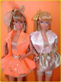 Hollywood Hair Teresa & Barbie by Bianca Fornasier - Barbie '80 & '90, via Flickr