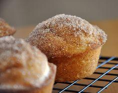 {French Breakfast muffin} cinnamon sugar buttery goodness