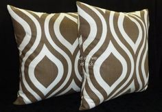 Decorative Accent Throw Pillow Covers  Two 18inch by berly731, $34.00