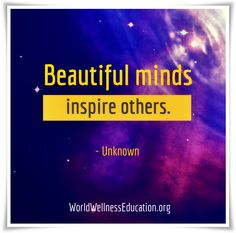 #Beautiful minds, inspire others. - Unknown Best Success Quotes, Beautiful Mind, Inspire Others, Mindfulness, Sayings, Lyrics, Consciousness, Quotations, Idioms