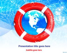 Give your audience hope, and let them know that the organization responds to their needs with free lifebuoy PowerPoint template