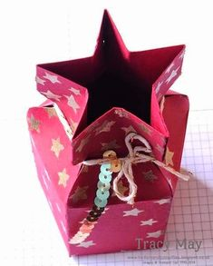 Star Gift Box Tutorial using Stampin' Up! products