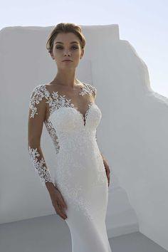 fa1ffe1b89bb Mark Lesley 7227 Bridal Gown - Mia Sposa Bridal Boutique Newcastle Mark  Lesley 7227 Bridal Gown