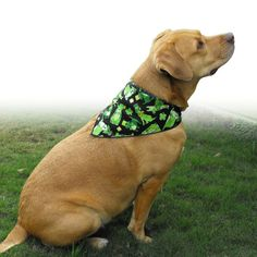 Simple and cute! St. Patrick's Day Dog Bandana by doggydesign