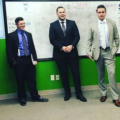 They're the 3 best friends that anyone could ever have haha! Featured from left to  Justin John and Brett! . . . . . . . . . . #squad #goals #team #suits #businessprofessional #entrepreneurs #lynxincindy #friends #workfamily #business #mensfashion #studs #dapper #leaders #mondaymotivation