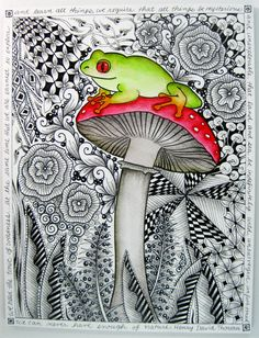 Marie Browning Zentangle | Category Archives: Zentangle