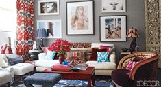 Forecast: Gray With A Chance Of Color | Apartment Therapy
