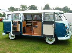 A new generation is bringing back an old trend: Turning classic Volkswagen and cargo vans into full-on campers.