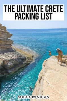 Wondering what to bring to Crete? Here's our complete Crete packing list, including what to wear in Crete for both women and men for all four seasons. Mykonos Greece, Crete Greece, Athens Greece, Crete Chania, Cool Places To Visit, Places To Travel, Travel Destinations, Travel Tips, Travel Guides