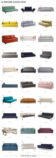 Chic Sleeper Sofas Emily Henderson Sofa Roundup Living Room