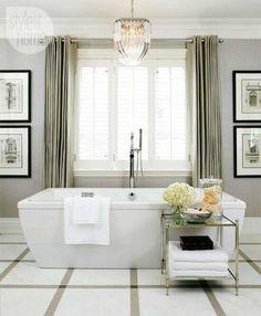 hamptons style bathroom - Google Search