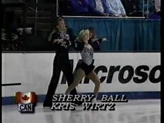 Sherry Ball-Kris Wirtz LP 1992 World Figure Skating Championships
