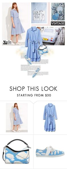 """""""Eyes on the clouds"""" by bbiillggeess ❤ liked on Polyvore featuring Anja, Loewe, Twins For Peace and bbiillggeess"""