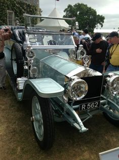 One of the oldest surviving Silver Ghosts, this exquisite 1908 car was the first Rolls-Royce to bear the 'Silver Dawn' moniker. Veteran Car, Automobile, Rolls Royce Cars, Vintage Classics, Classic Motors, Best Classic Cars, Bmw, Unique Cars, Old Cars