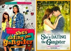 KathNiel in She's Dating the Gangster Cathy Garcia Molina, Dramas, Pinoy Movies, Gangster Movies, Romantic Comedy Movies, Daniel Padilla, Wattpad Books, Movie Collection, Happy Endings
