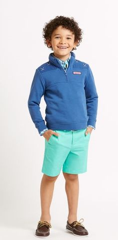 Boys Summer Twill Shorts
