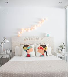 """La semana pasada os contaba que iba a hacer un post con todos los cambios de mi dormitorio, la verdad es que lo voy a haciendo cada """"x"""" tie..."""