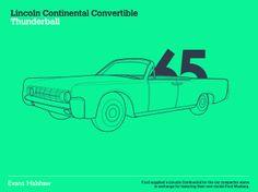 Évolution #JamesBond #cars #Lincoln 65 https://www.facebook.com/clubautozone