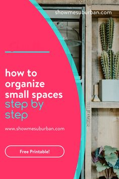 Have a closet, drawer, or cabinet in your home that's always disorganized? Learn how to get and keep small spaces organized in just a few steps. These easy tips are great for organizing the closet, bathroom, or kitchen. Small Space Organization, Laundry Room Organization, Office Organization, Organizing, Storage Tubs, Storage Spaces, Bathroom Cleaning Hacks, Declutter Your Home, Working Woman