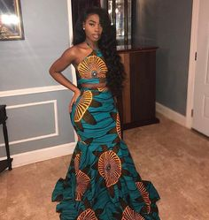 ankara stil Black Girls R Magic Source by fearlesskcl dresses black girls slay African Dresses Plus Size, African Prom Dresses, Latest African Fashion Dresses, African Dresses For Women, African Attire, Nigerian Fashion, Black Girl Prom Dresses, Prom Dresses Long With Sleeves, Dress Black