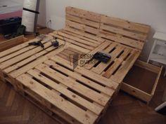 Pallet Beds, Bed Pallets, Decoration Palette, Diy And Crafts, Furniture, Home Decor, Bedrooms, Gardening, Google