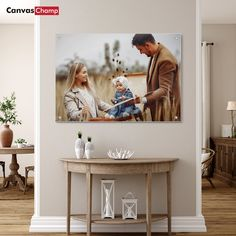 Metal prints are a clean, sleek alternative to traditional wall art. Upload your favorite photos or graphics, we'll print them on metal and deliver right to your door!