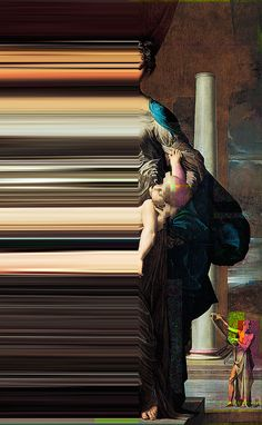Glitch Art in Renaissance Paintings – Fubiz Media