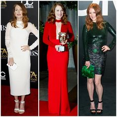 The 21 Best-Dressed Women Right Now - Hollywood's red-haired darling, Julianne Moore always looks sophisticated and polished on the red carpet.