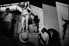 Lena on the Bally Box. Essex Junction, USA. 1973. © Susan Meiselas / Magnum Photos