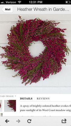 Floral autumn wreath