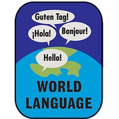 Demco Cultural Subject Classification Labels - World Language