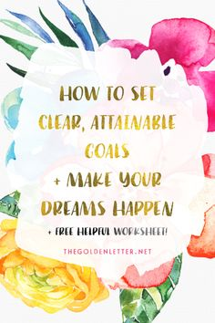 A different way to organize and plan out your goal setting and map out your success (in blogging, in business, in life) in a clear and attainable way. Download the free printable worksheet and do it at home!