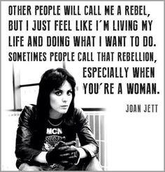 - Joan Jett