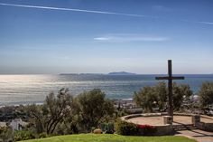 My Home Town, Ventura California.  Ventura Cross with a view of the Pacific Ocean.