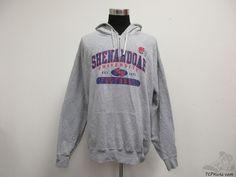 Vtg Champion Shenandoah University Hornets Hoody Football Sweatshirt sz 2XL #Champion #ShenandoahHornets